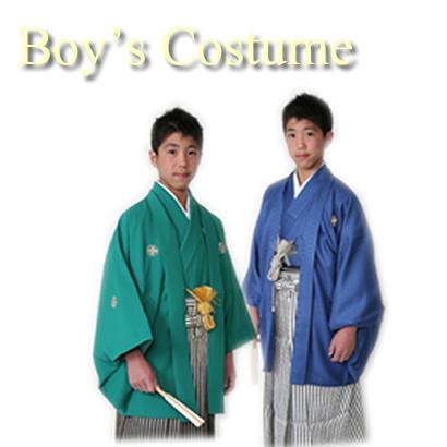 小学校男子の袴レンタル