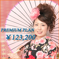 振袖プレミアプラン(¥123,200)