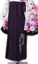 紫ジャガード刺繍_hkA031