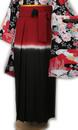 赤×黒×白はかま