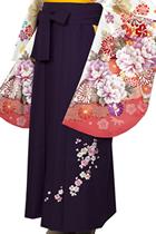 紫小桜刺しゅう_hkA040
