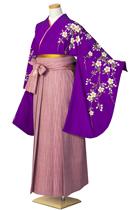 紫しだれ桜