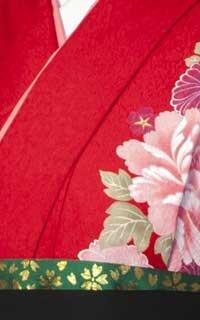 赤花ざかり