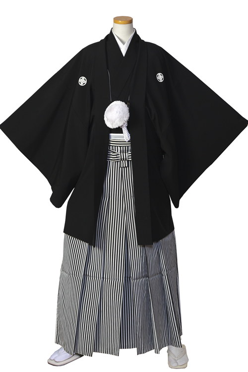 黒紋服セット