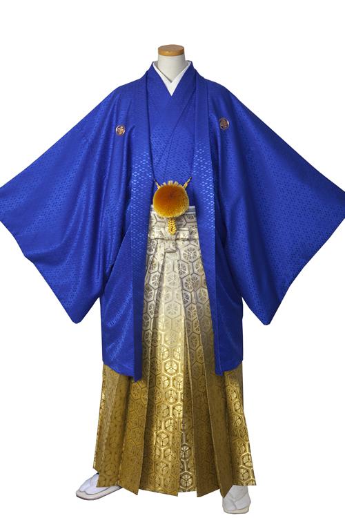 青紋服袴セット