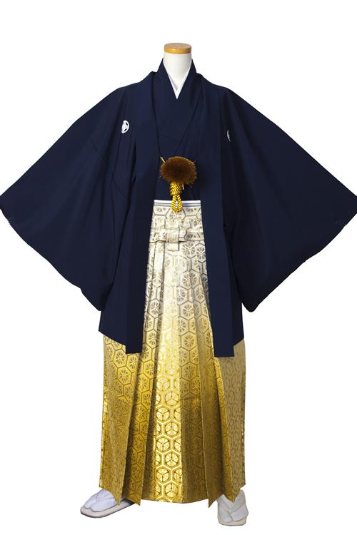 濃紺紋服セット