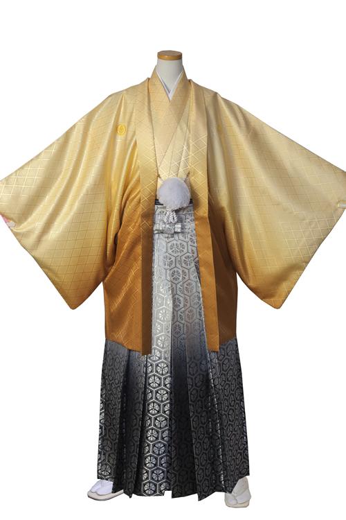 金ぼかし紋服セット