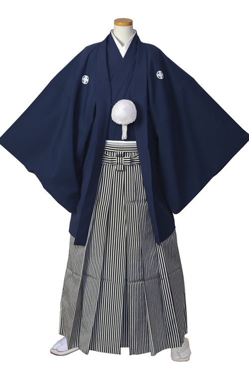 紺紋服セット