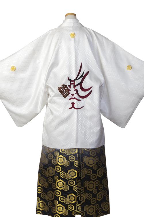 白紋服(歌舞伎隈取)セット