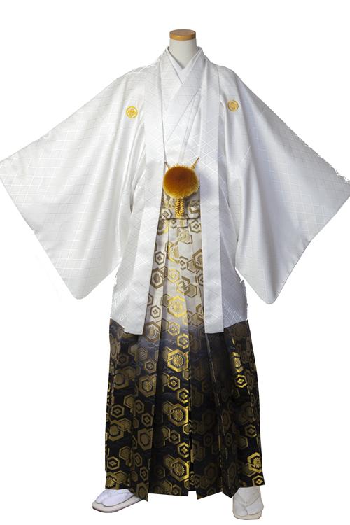 白紋服セット