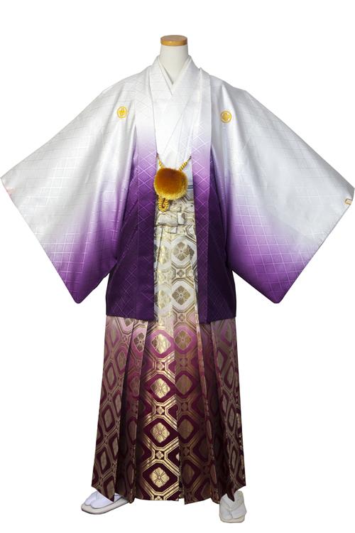 白紫グラデーション