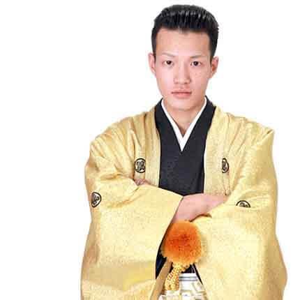 男の紋付袴レンタル