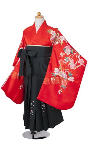 赤しだれ桜花車