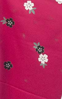 濃ピンク黒白桜