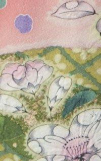 ピンク辻が花