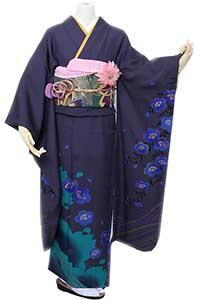 紺ブルー桜