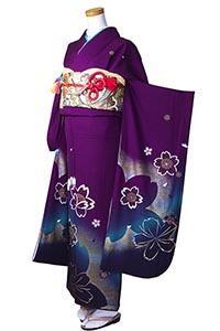 紫かすみ桜