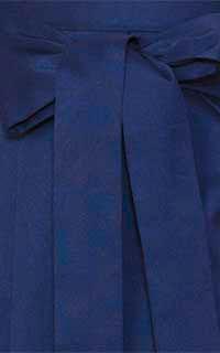 紺刺しゅう