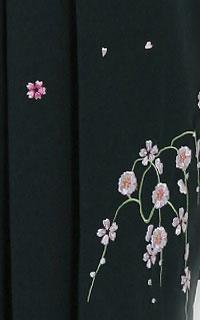 緑刺しゅう