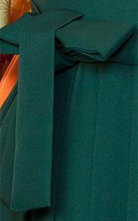 グリーン刺しゅう