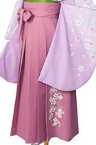 ピンク縦桜刺しゅう_hkA041