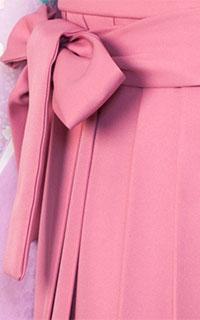 ピンク縦桜刺しゅう