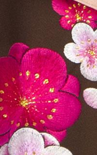 MS茶梅刺繍