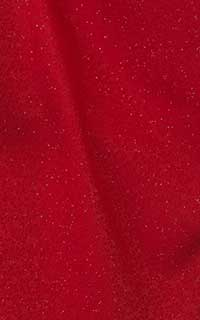 ラメ赤花紋