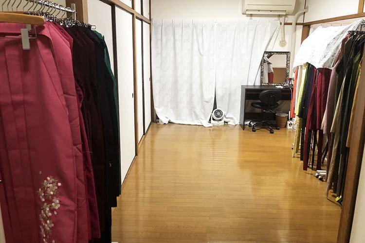 50種類の袴を常備