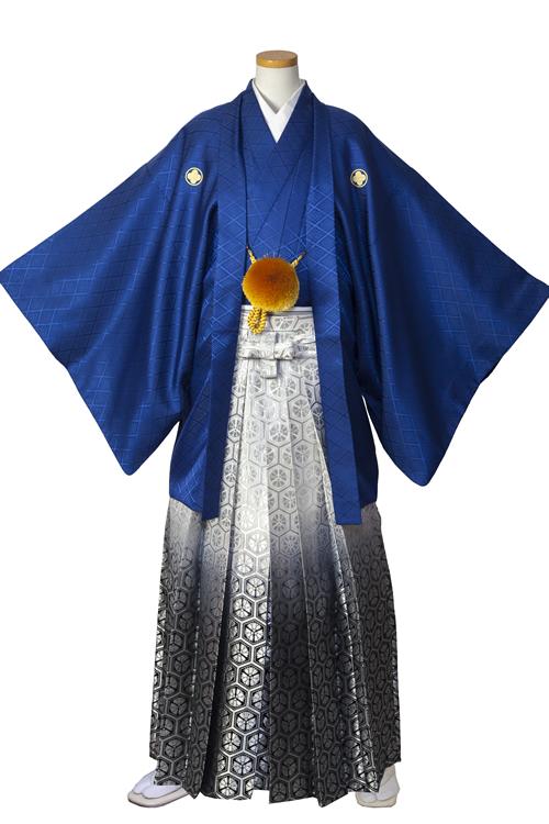 青紺紋服セット
