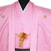 ピンクの紋服が増えました。