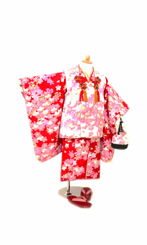白被布赤桜