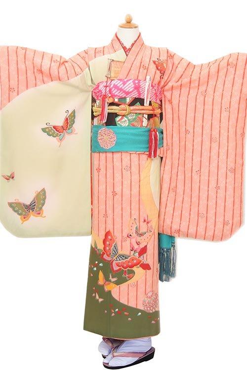 ピンクミント蝶