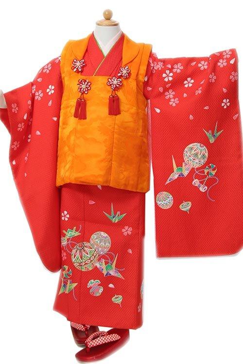 赤手毬折鶴
